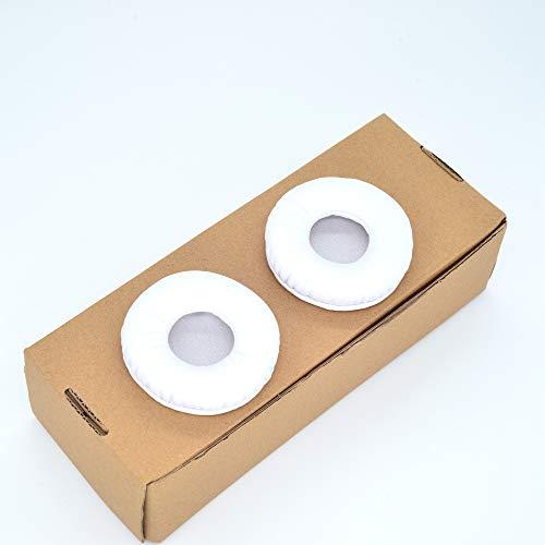 TDITD イヤーパッド イヤークッション 交換用耳パッド 70 MM 対応 White