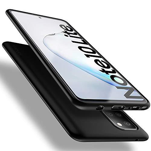 X-level Samsung Galaxy Note 10 Lite Hülle, [Guardian Serie] Soft Flex TPU Hülle Superdünn Handyhülle Silikon Bumper Cover Schutz Tasche Schale Schutzhülle für Samsung Note 10 Lite - Schwarz