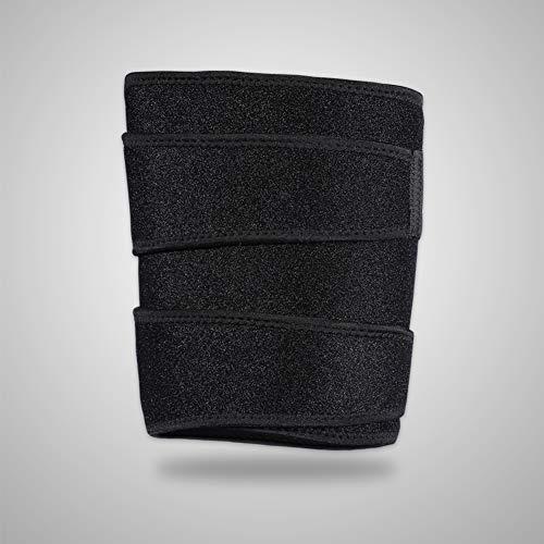 Verstelbare neopreen sport been mouw dijbeugel ondersteuning voor hamstring Quad Groin pijn reliëf, verstelbare compressie mouw wrap