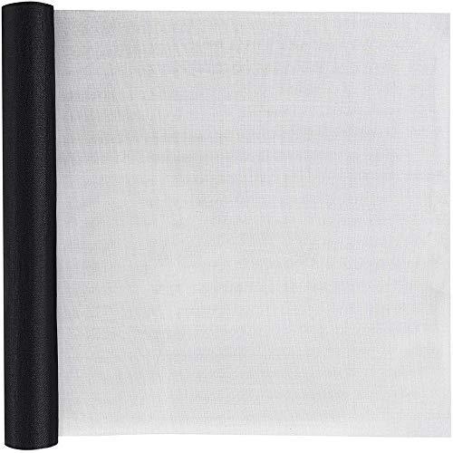 Loboo Idea Screens Standaard Mesh Raam Scherm Roll, Glasvezel Scherm Vervanging Mesh voor Window/Deur en Patio/Screen Protection/Patio Schermen 59 Inch x 10 Feet Zwart
