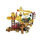 Juego De Coches De Ingeniería De Juguete para Niños Juego De Pista Slide Boy Racing Tower Crane Track Competition 3 Años