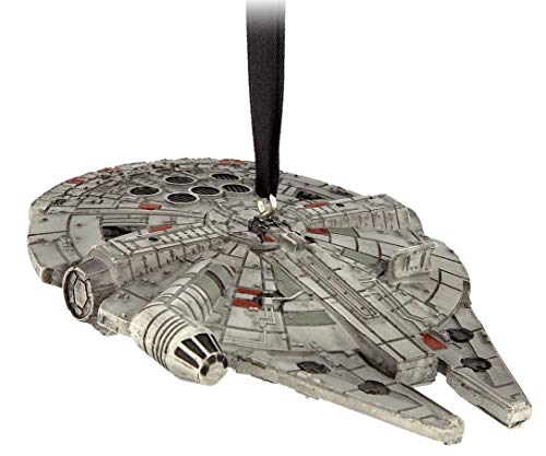 Ornament Fully-Sculpted Millennium Falcon New