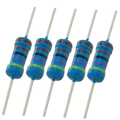 New Lon0167 500 x Destacados 4.7K Ohm 1% eficacia confiable 1 / 2W resistores de película metálica de orificio pasante(id:aeb cb fb 2c4)