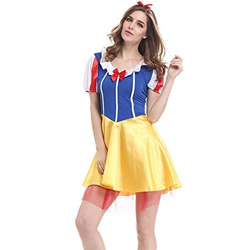 Disfraz oficial de Disney Princesa Blancanieves para mujer, disfraz de adulto como Show_M.