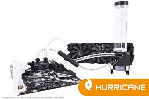Alphacool 11469 Eissturm Hurricane Copper 45 3x120mm - Complete Kit WaterCooling Kit e Sistemi