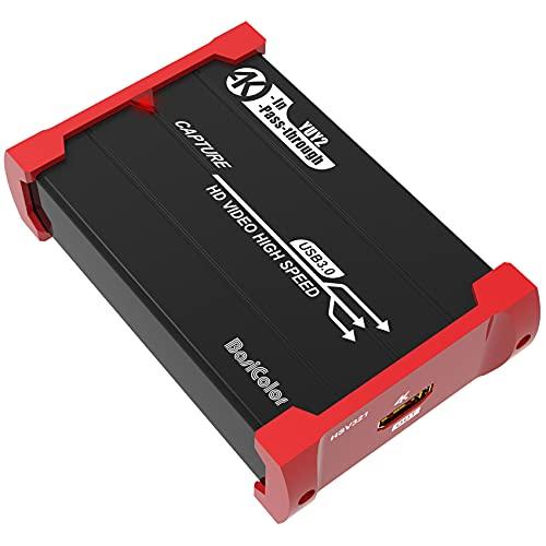 Basicolor321 キャプチャーボード Switch PS4 Xbox Wii U ウェブカメラ PS3に対応、HDMI キャプボ、USB3.0 ...