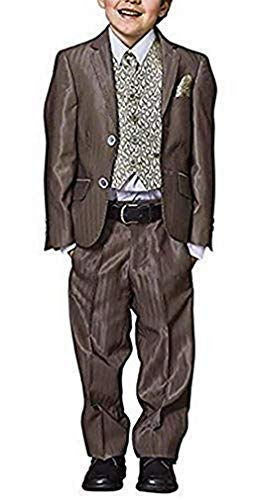 Studio Coletti Anzug für den Jungen Mann 5tlg Taupe Gr. 176