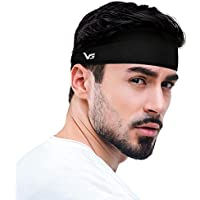 Vinsguir Sports Non Slip Lightweight Sweat Headbands