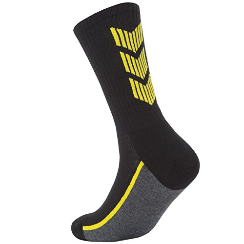 RedTag Active Mens 6 Pairs Cushioned Sport Socks With Ribbed Top For Support Green 6-11
