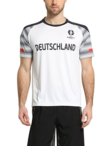 Summary Camiseta, Campeonato de Europa de Fútbol 2016, Primavera/Verano, Unisex, Color Blanco, tamaño XXL