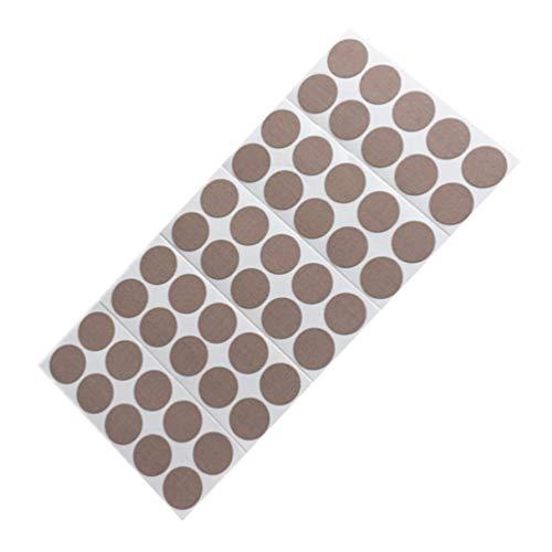 Healifty 50 Stück Akupressurpflaster Arthritis Aufkleber Selbstklebende Steife Muskelpflaster Körperpflege Medizinische Versorgung gegen Muskelschmerzen Schmerzen (Schokolade)