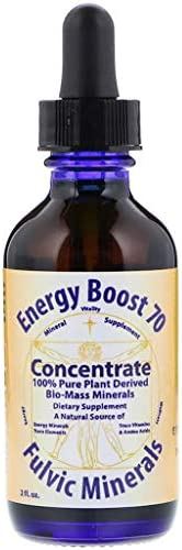 Morningstar Minerals Energy Boost 70 Concentrate Fulvic Minerals 2 Fl Oz product image