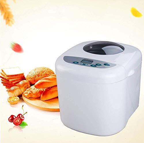 Máquina de pan Cafetera, compacto rápido panificadora, con 12 programas antiadherentes Pan Pan 3 Dimensiones y 3 colores quemados sin gluten pan de trigo entero DOISLL