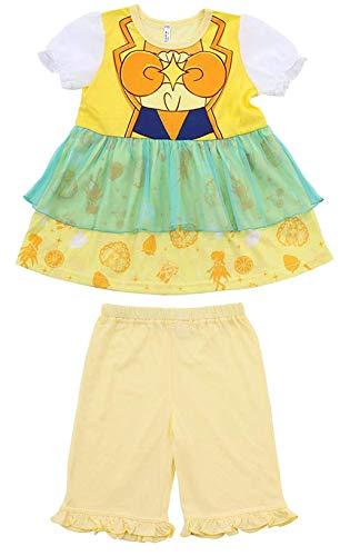 ヒーリングっどプリキュア パジャマ 半袖 変身パジャマ Tシャツ+ハーフパンツ pz-bd-ss16(キュアスパークル,100cm)