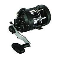 "Okuma CLX-300La Classic Levelwind Star Drag Casting Reel, 300 Reel Size, 3.8: 1 Gear Ratio, 24"" Retrieve Rate, 17 lb Max Drag, Right Hand"