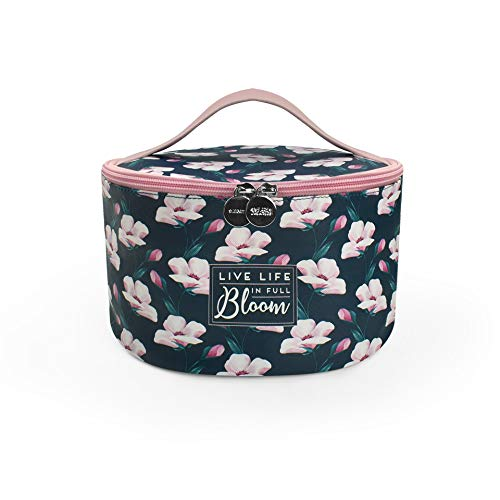 Legami - Beauty Case - Flower Bloom, BLU/ROSA