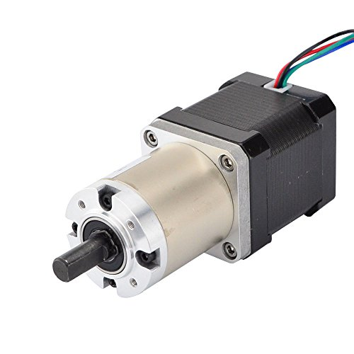 STEPPERONLINE 51:1 Planetengetriebe Nema 17 Schrittmotor/Getriebemotor Wellendurchmesser Φ8mm Länge 48mm für 3D DRUCKER/Hobby CNC-Fräse