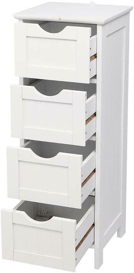 DFGH 4 Chest of Drawers Storage Dressers service Bathr Organizer Bombing new work Bedroom