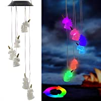 Eleven Direction Solar Wind Chimes