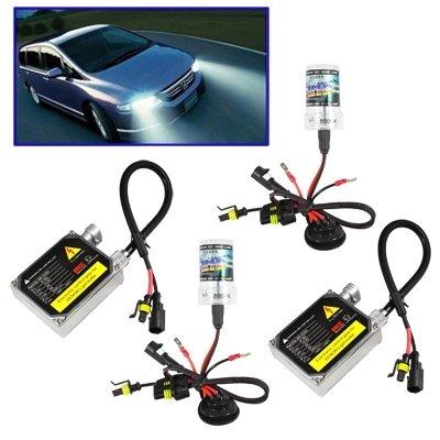 Auto Hernie Lampe AC9-16V 55W 2 x H3 HID-Xenon-Licht, High Intensity Discharge Lampe Hohe Qualität Scheinwerfer-Birne, Farbtemperatur: 6000K