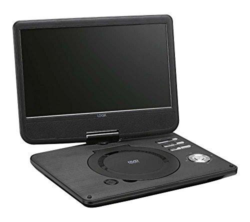 Logik L10SPDVD17 Portable 10.1' Widescreen with Swivel DVD Pl