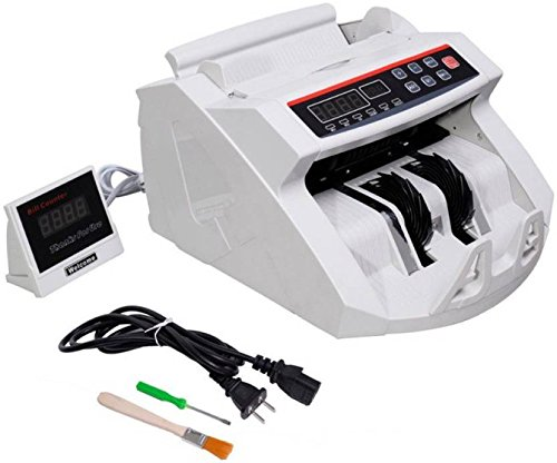 DishanKart Cash Counting Machine, Currency Counter, Note Counter with External Display with Fake Note Detection Technology