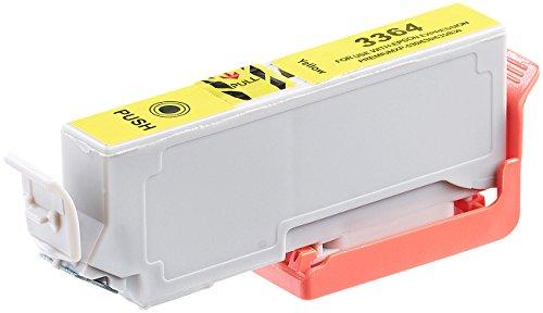 iColor Patronen kompatibel: Tintenpatrone für Epson (ersetzt T3364 / 33XL), Yellow (kompatible Tintenpatronen für Tintenstrahldrucker, Epson)