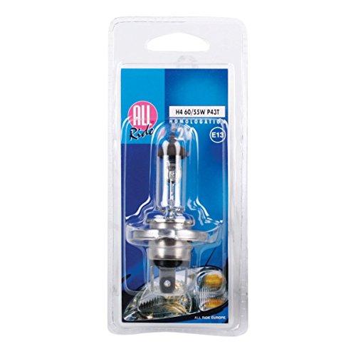 All Ride 871125228564 Carlight Bulbs 12 V 60/55W H4