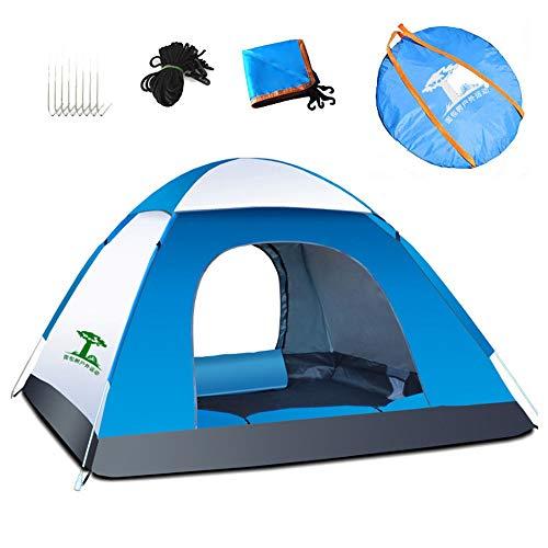 Outdoor Kuppelzelt Outdoor Quick Open 1-2 Personen wasserdichtes Familienzelt mit Tragetasche zum Wandern Reisen oder Strand von Campingzelt (Farbe : B)