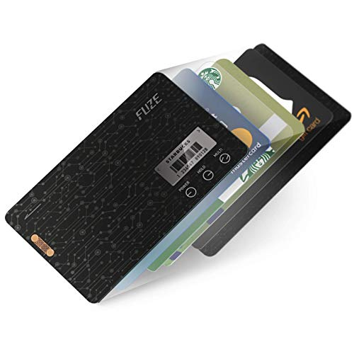 FuzeCard | Card-shaped digital minimalist wallet for men | Card holder wallet | 0.03 inch ultra slim | Consolidate all your magnetic stripe & barcode card | NOT SUPPORTS STORING EMV IC CHIP CARD.