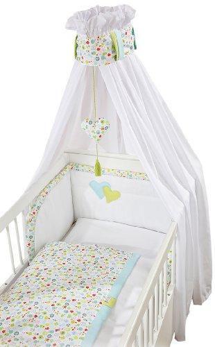 Christiane Wegner 0311 00-555 Bett-Set für Kinderbett, 70 x 140 cm
