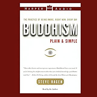 Buddhism Plain and Simple audiobook cover art