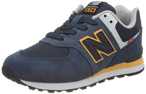 New Balance 574 Varsity Pack, Zapatillas Niños, Azul (Natural Indigo), 35 EU