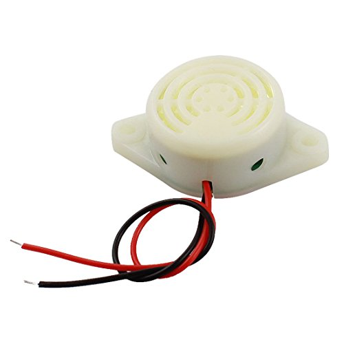 uxcell DC 3-24V 30mA Industrial Continuous Sound Electronic Buzzer 80dB