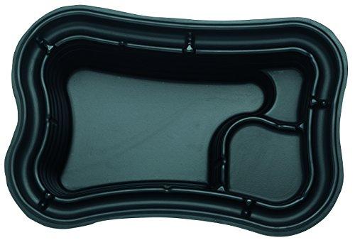 Oase Teichschale PE, Schwarz, 750 Liter
