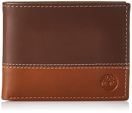 Timberland Hunter portafoglio da uomo con portadocumenti Brown/Tan Taglia unica
