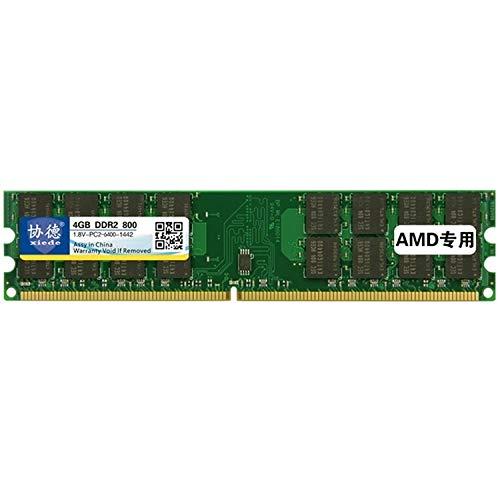 Memoria del Ordenador X021 DDR2 800MHz 4GB General de AMD Tira Especial del módulo de Memoria RAM, para PC de Escritorio
