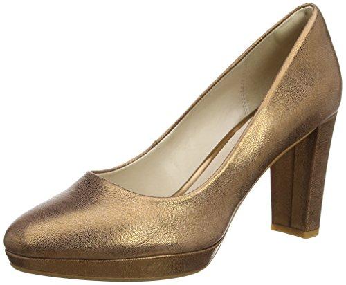 Clarks Damen Kendra Sienna Pumps, Grau (Bronze Metallic), 39 EU