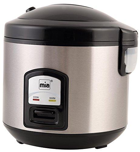 Mia RK 4508 Reiskocher, Risotto-Maker, Gemüse-Steamer, 400 W