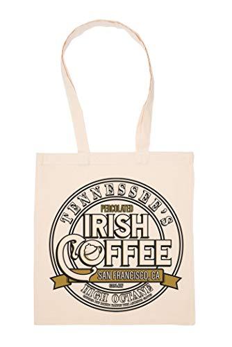 Irish Coffee High Octane Tasche Wiederverwendbar Einkaufen Lebensmittel Baumwolltuch Tote Reusable Shopping Bag