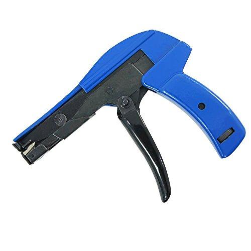417513 Hochleistungs Kabelbinder Pistole Spanngerät, professionelles Werkzeug, komplett Stahl