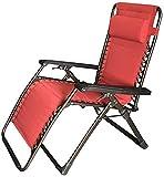 HUAXUE Garten-Klappstuhl. Faltstuhl Home Office Lounge Chair Lunch Break Folding Faulenstuhl Outdoor Freizeit Erwachsene Stuhl Nickerchen Geeignet für Schlafzimmer, Wohnzimmer