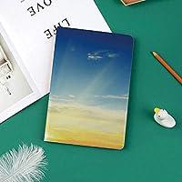 iPad Pro 11 ケース 2018 マグネットス吸着式 オートスリープ機能 スリム 軽量 シルク手触り 高級感 iPad Pro 11インチ専用 スマートカバー地平線の上の日差しの夕焼け雲季節の美しい世界の美しさ絵の装飾