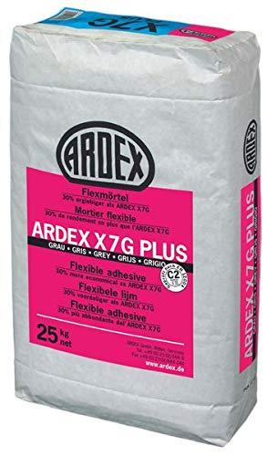 ARDEX X 7 G Plus Flexmörtel Fliesenkleber Flexkleber Kleber Frostbeständig 25 KG