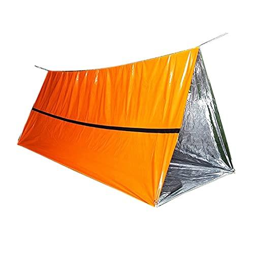 LXF JIAJU Camping Tube Tienda Tienda Manta Emergente Senderismo Al Aire Libre Tienda De Tiendas Tarp para Picnic Montaña Mochila Survival Gear Sport Herramienta Multi