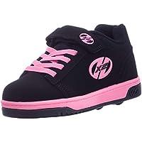 Heelys X2 Dual Up, Zapatillas para niñas, Negro (Black/Pink), 33 EU