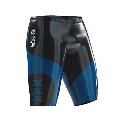 Xterra Wetsuits - Lava Shorts - Neoprene Triathlon Wetsuit Buoyancy Shorts (5mm Thickness) (Large)