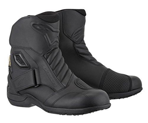 Alpinestars New Land Gore-Tex Men's Motorcycle Street Boots (Black, EU Size 36)