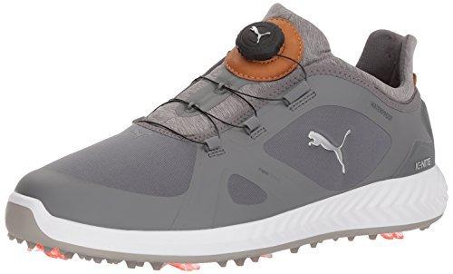 PUMA Golf Men's Ignite Pwradapt Disc Golf Shoe, Quiet...