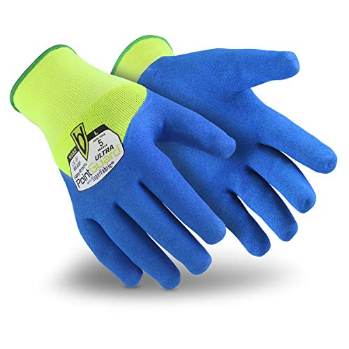 HexArmor PointGuard Ultra 9032 Knit Needle Resistant Gloves, Large